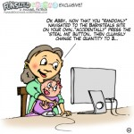 Babysteals fun sized comic cartoon kidsteals funny