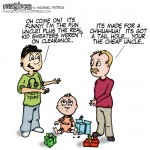 Episode 2 of Fun sized comic cartoon funny uncle buys baby dog clothes