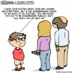 Fun sized comic funny parenting cartoon mom and dad put video of son on youtube son threatens to embaras