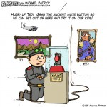 Fun sized funny parenting comic cartoon museum heist