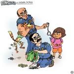 Dora explorer swiper no swiping stealing shoplifting disney nickelodion fun sized comics parenting