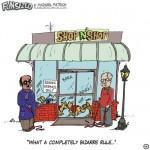 fun sized comics parenting humor service dog rules