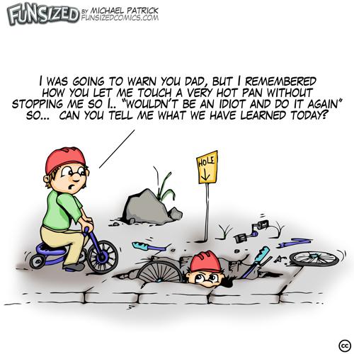 fun sized comic cartoon